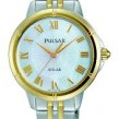 Pulsar Ladies Two Tone Solar Easy Style Collection Watch