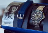 Seiko Jimmie Johnson Collectors Edition Gift Set Solar Watch